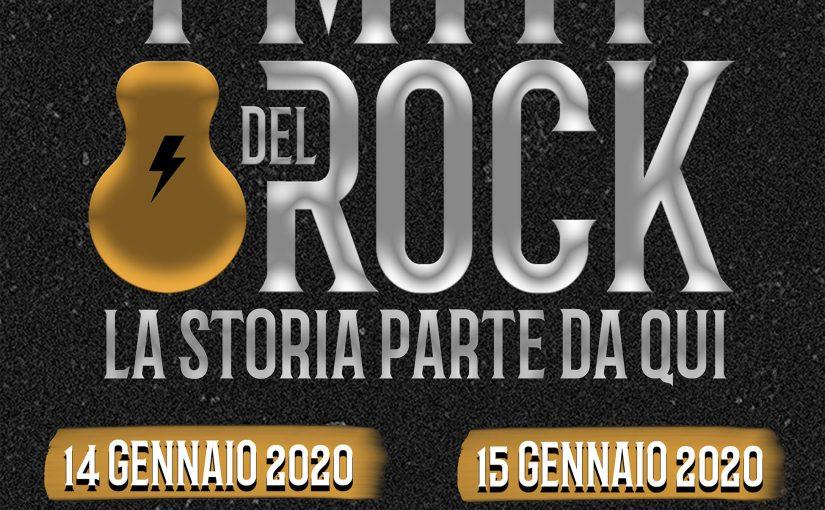 Teatro Nuovo di Milano We4Show  presenta  I MITI DEL ROCK