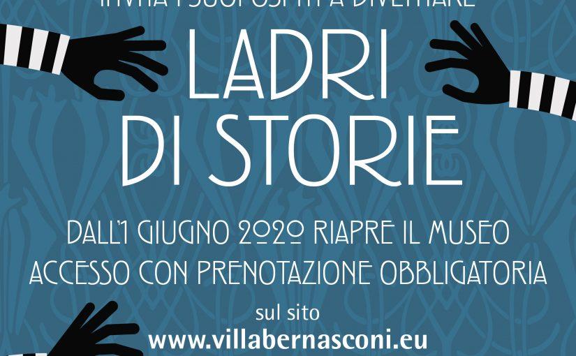 Il Museo di Villa Bernasconi (Cernobbio, Como) riapre e invita a diventare ladri… di storie!