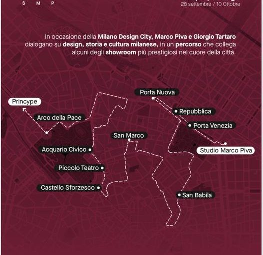 MILANO DESIGN WALK – Dialogues in the City by Studio Marco Piva