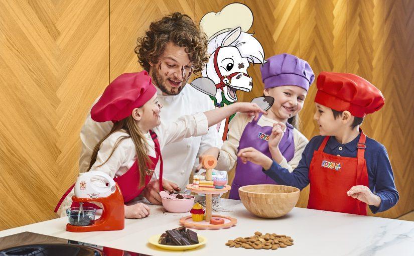 Da Toys Center arriva un ricettario a misura di bambino per trasformare le uova di Pasqua in piatti golosi e giochi creativi.