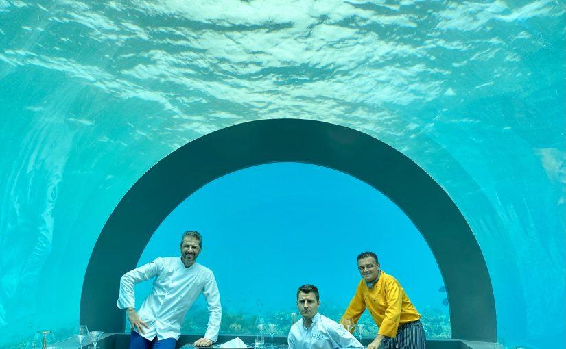 """Inaugurato  il ristorante """"H2O by Chef Andrea Berton"""""""