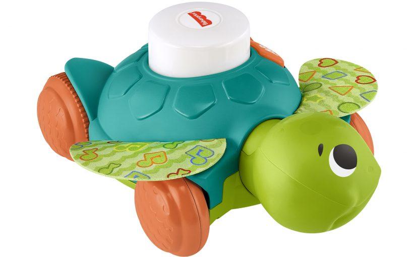 È arrivata Baby Tartaruga Gattona con Me di Fisher-Price per guidare i bambini nei loro primi passi!