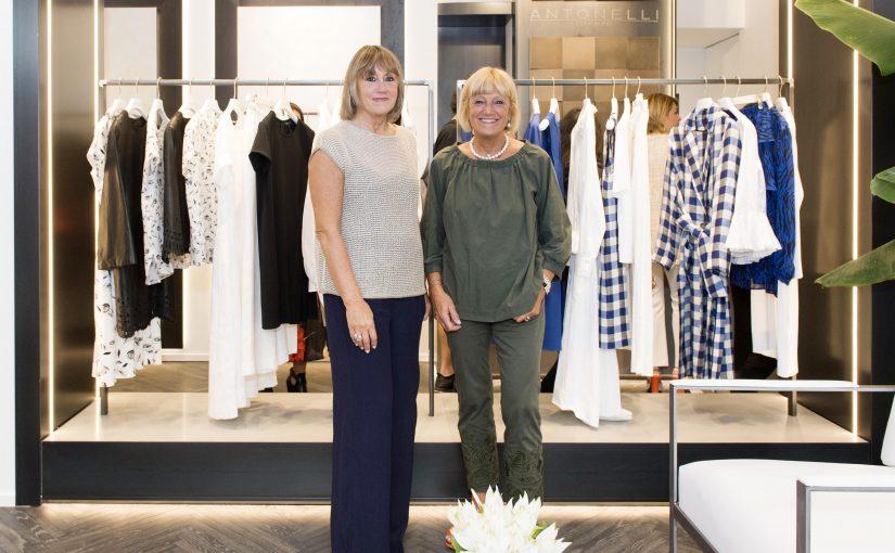 43614d0bb11c58 Antonelli Firenze apre il primo Flagship Store a Milano e presenta la nuova  Collezione Primavera Estate 2019