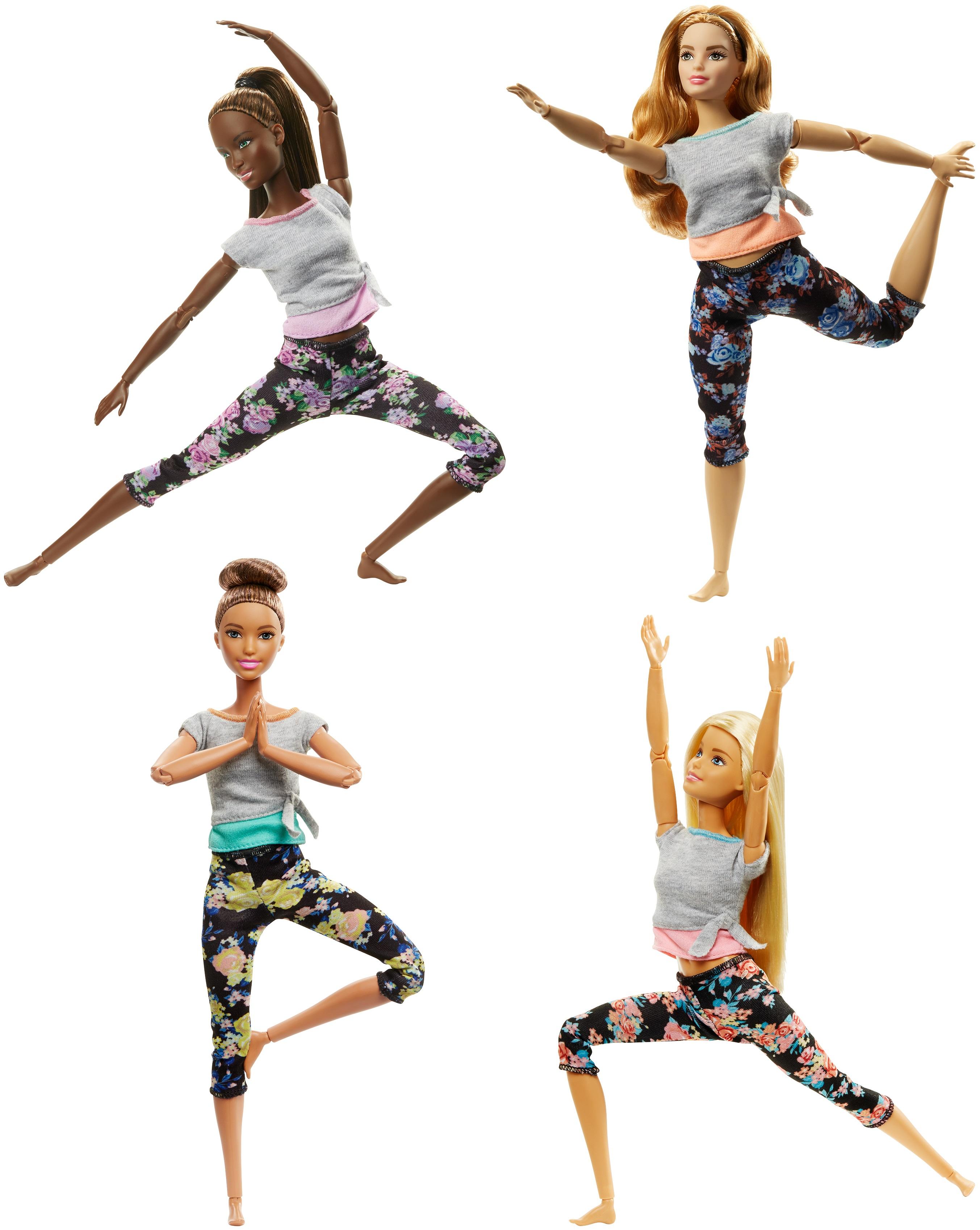 Barbie Snodata rende possibili infiniti movimenti e crea nuove